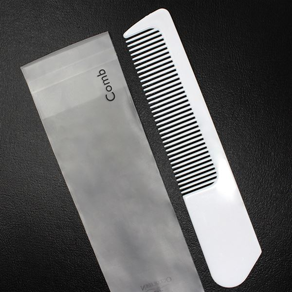 Out of Eden White Plastic Comb in Polybag