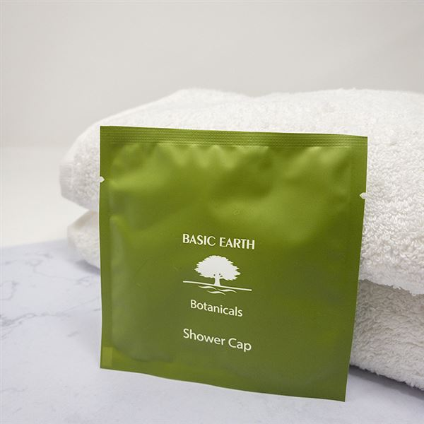 Basic Earth Shower Cap Pouch