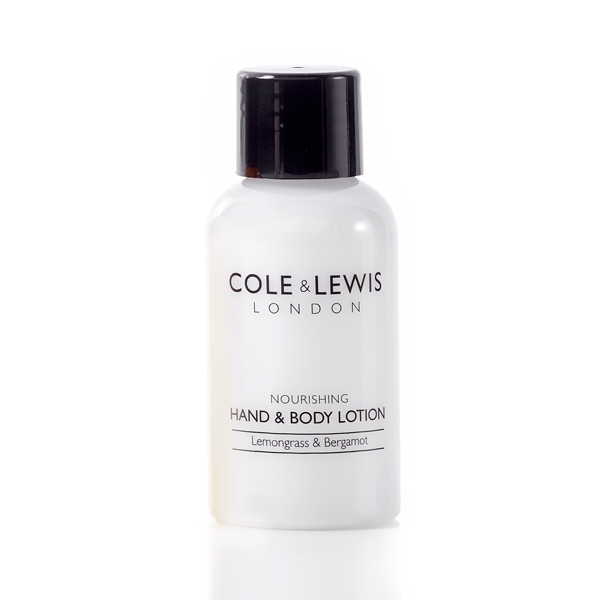 Cole & Lewis Lemongrass & Bergamot Hand & Body Lotion 50ml Bottle