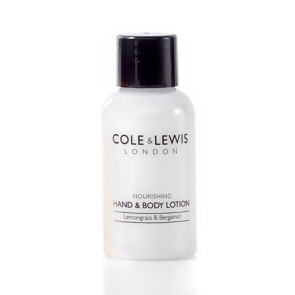Cole & Lewis Lemongrass & Bergamot Hand & Body Lotion 50ml Bottle