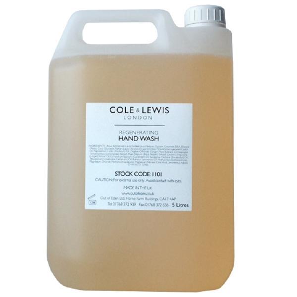 Cole & Lewis Lemongrass & Bergamot Hand Wash 5 litre Refill