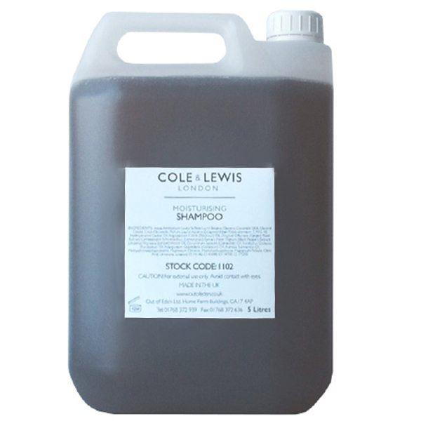 Cole & Lewis Lemongrass & Bergamot Shampoo 5 litre Refill