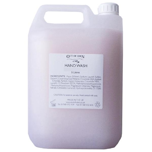 Pink Hand Wash, Rose Blossom 5 litres