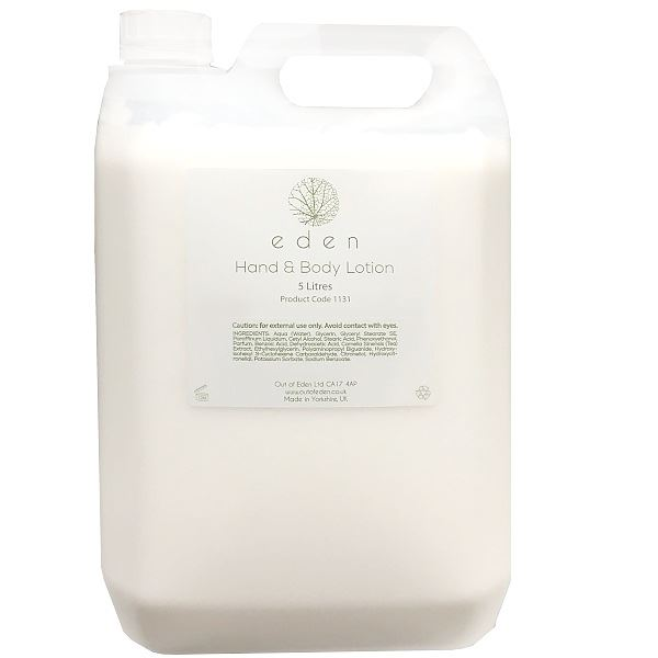Eden Hand & Body Lotion 5 Litres