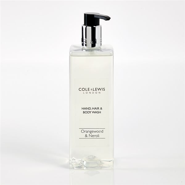 Cole & Lewis Orangewood & Neroli Hand, Hair & Body Wash 480ml