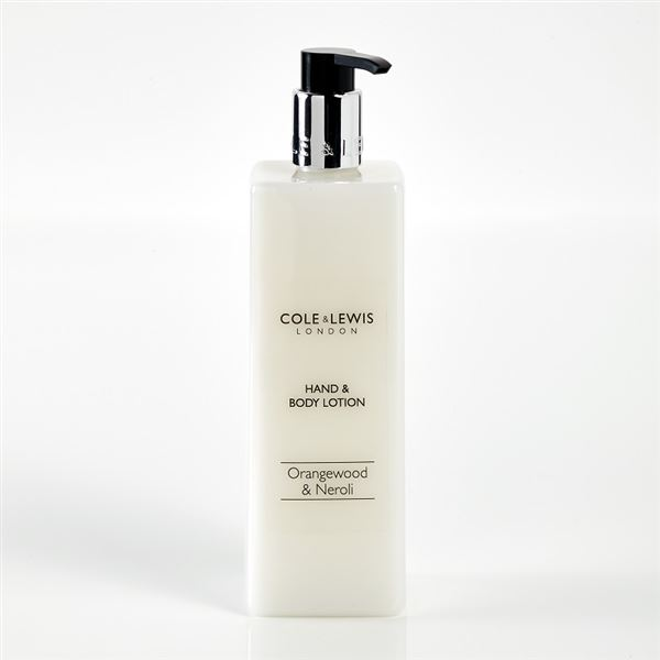 Cole & Lewis Orangewood & Neroli Hand & Body Lotion 480ml