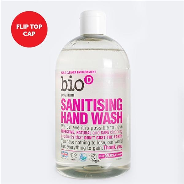 Bio D Sanitising Hand Wash  Geranium