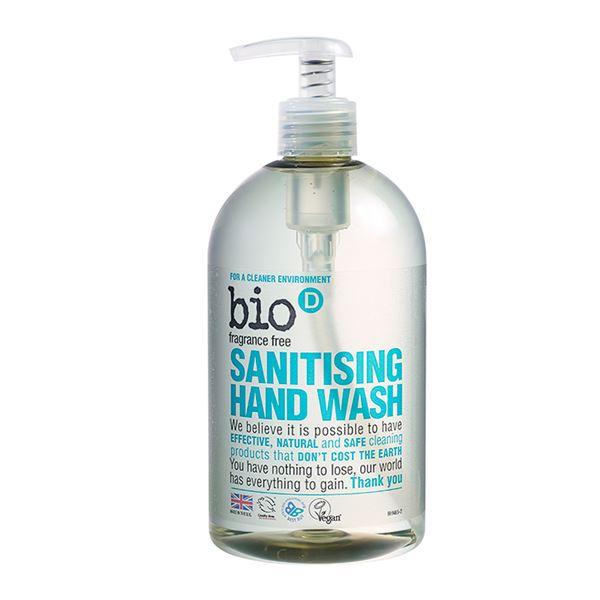 Bio D Sanitising Hand Wash Fragrance Free