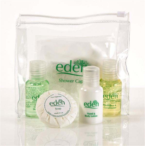 Eden Toiletries & Amenities Welcome Packs