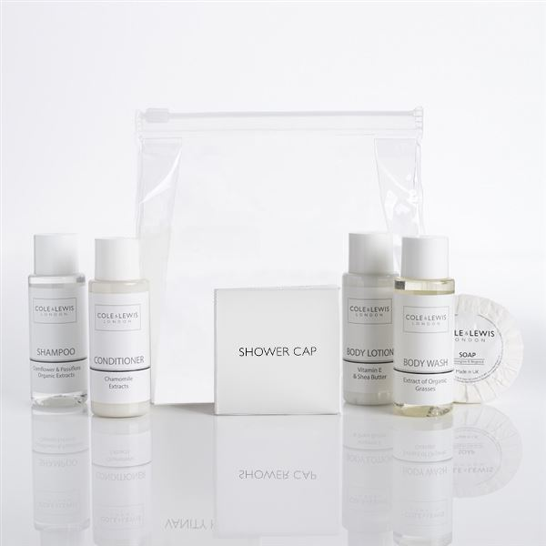 Cole & Lewis White Collection Toiletries Welcome Pack