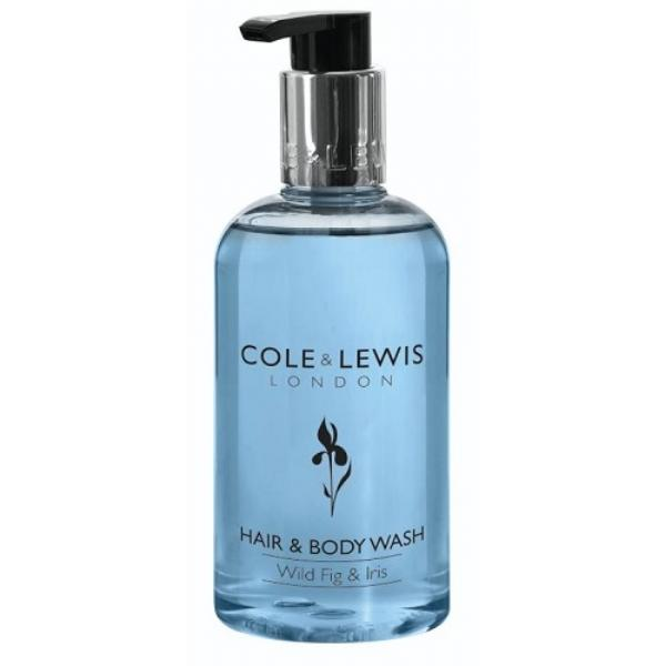 300ml Cole and Lewis Wild Fig and Iris Hair and Body Wash