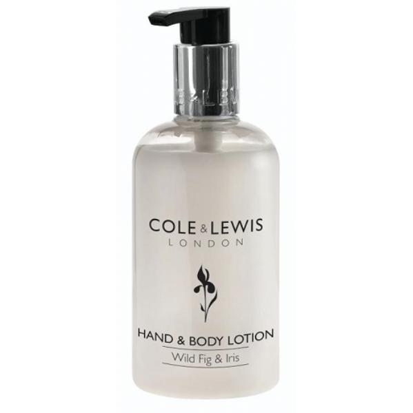 300ml Cole and Lewis Wild Fig and Iris Hand and Body Lotion