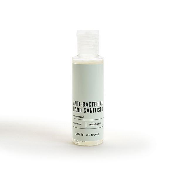 Spirit of Travel Luxury Hand Sanitiser 50ml Bottle