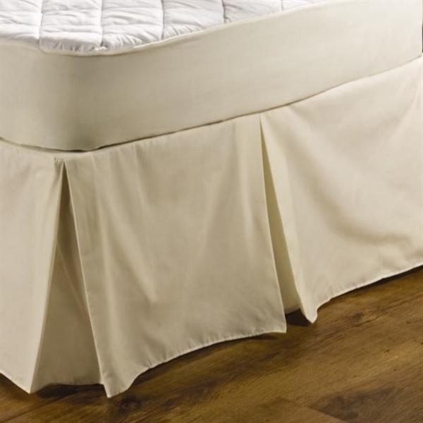 Centre Pleat Valance Ivory