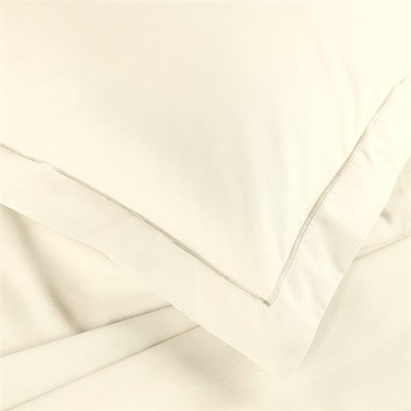 Rich Cream Percale Hotel Bed Linen