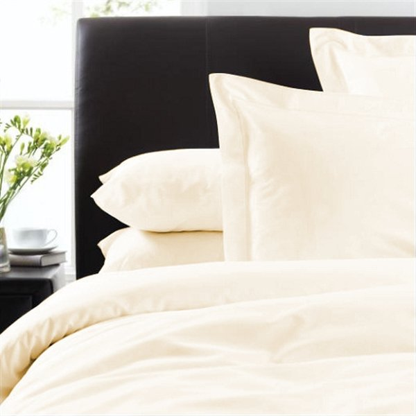 300 Thread Count Cotton Bed Linen Ivory