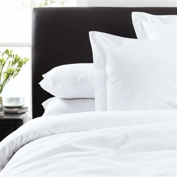 300 Thread Count Cotton Bed Linen White