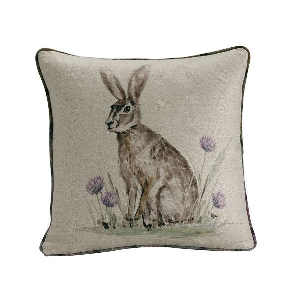 Hare Filled Cushion