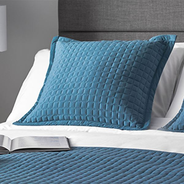 Crompton Cushion Pale Cobalt Blue