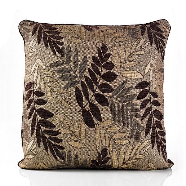 Fern Cushion Mocha