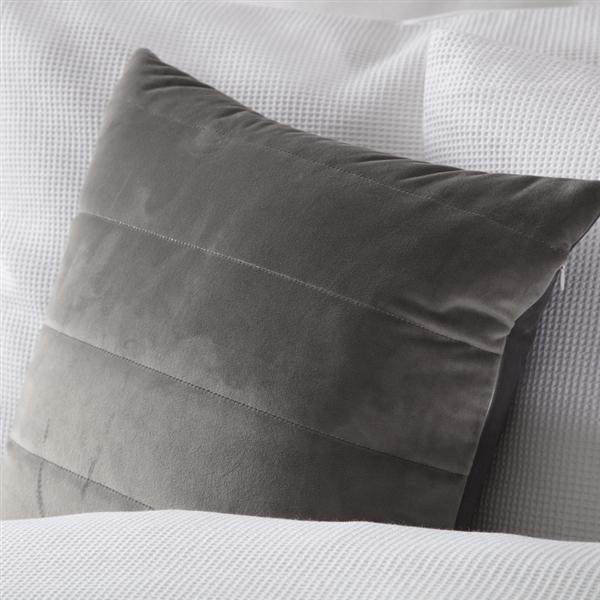 Verona Cushion Charcoal
