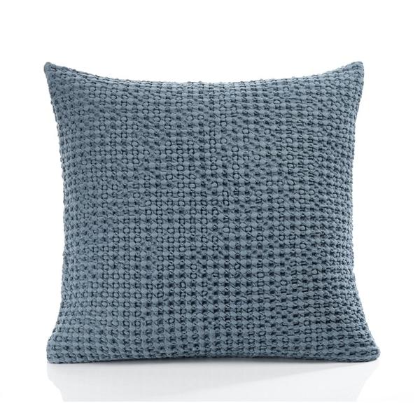 Hampton Filled Cushion Smoky Blue