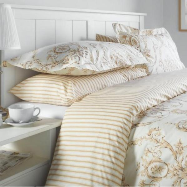 Elizabeth Natural Duvet Cover & Pillowcase