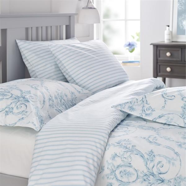 Elizabeth Duck Egg Blue Duvet Covers & Pillowcases