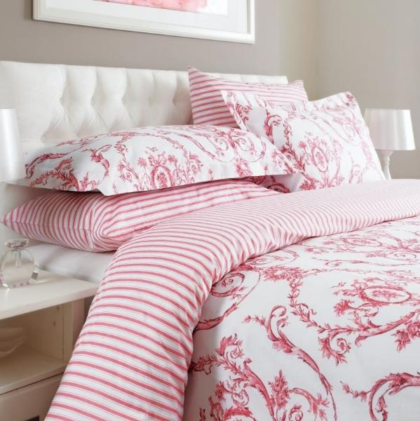 Elizabeth Antique Rose Duvet Cover & Pillowcase