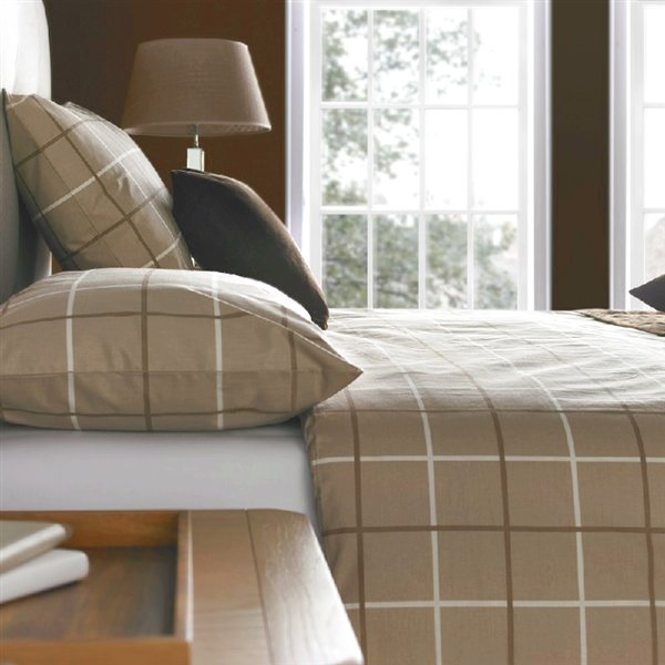 Cambridge Duvet Cover Set Natural