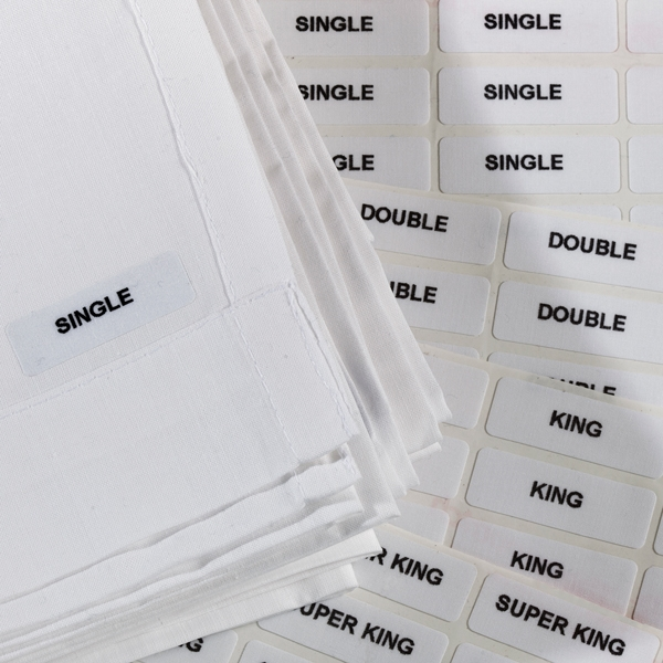 Iron-on Size Labels