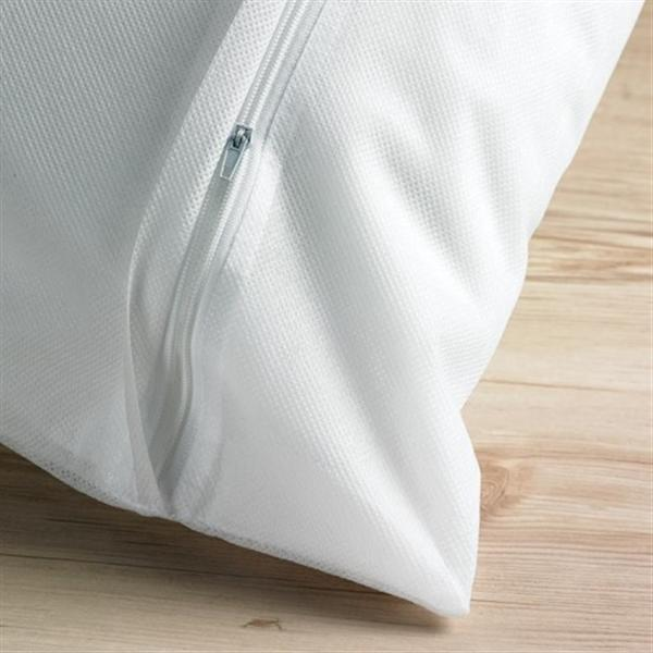 Costsaver Pillow Protector with Zip, Extra Long
