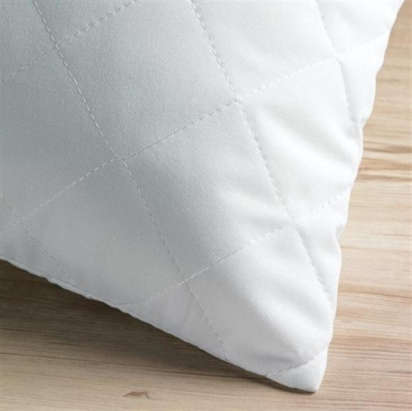Quilted Polycotton Pillow Protector