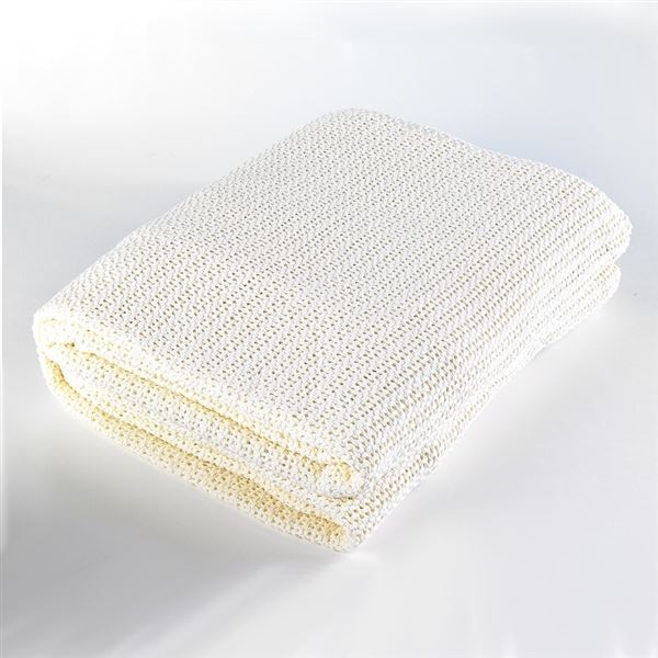 Cellular Cotton Pram Blanket 75 x 100cm