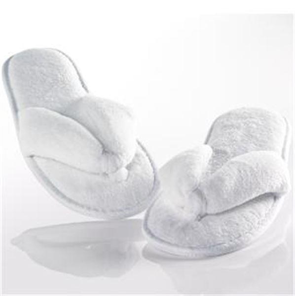Microfibre Flip Flop Slippers