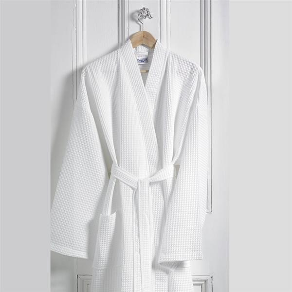 Waffle Design Bathrobe and Spare Belts
