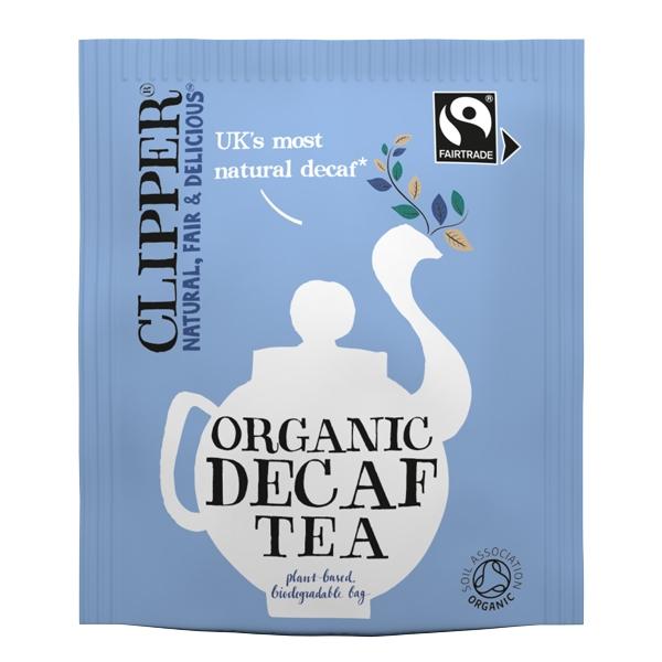 Clipper Fairtrade Organic Decaf Tea Bags