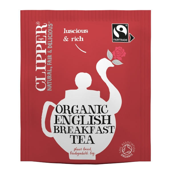 Clipper Fairtrade Organic English Breakfast Tea