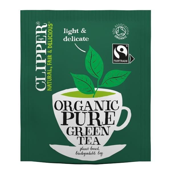 Clipper Fairtrade Organic Green Tea Bags