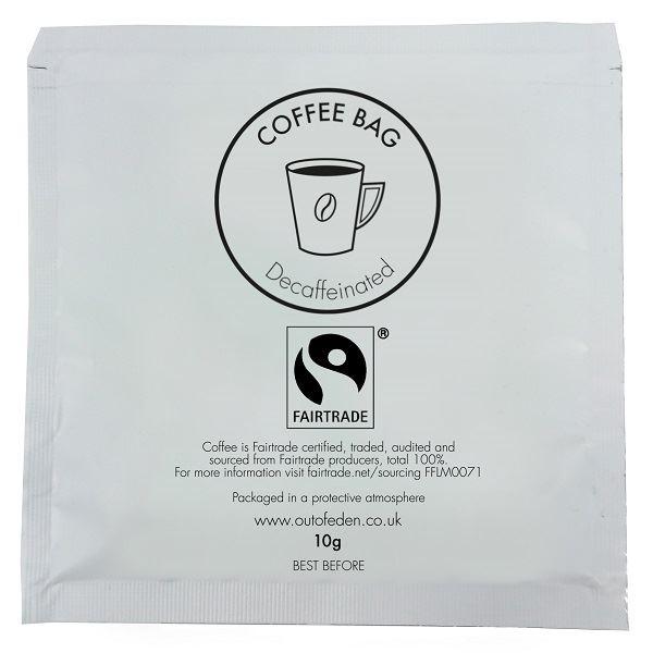 Fairtrade Decaff Coffee Bag