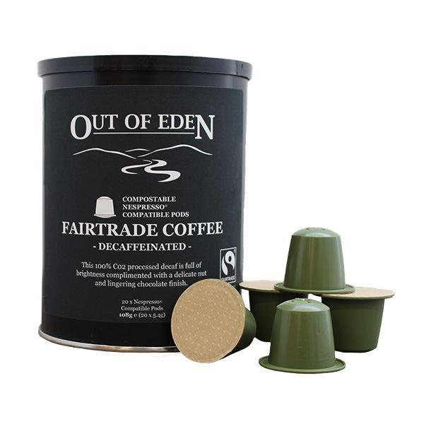 Compostable Fairtrade Decaff Espresso Pods