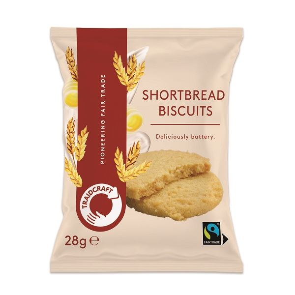 Fairtrade Traidcraft Biscuits Assorted Pack Of 100