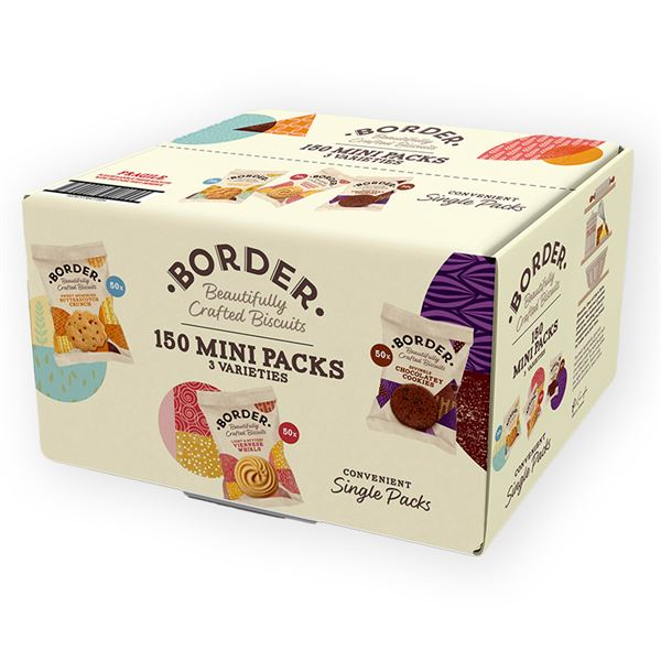 Border Biscuit Single Packs Pack of 150