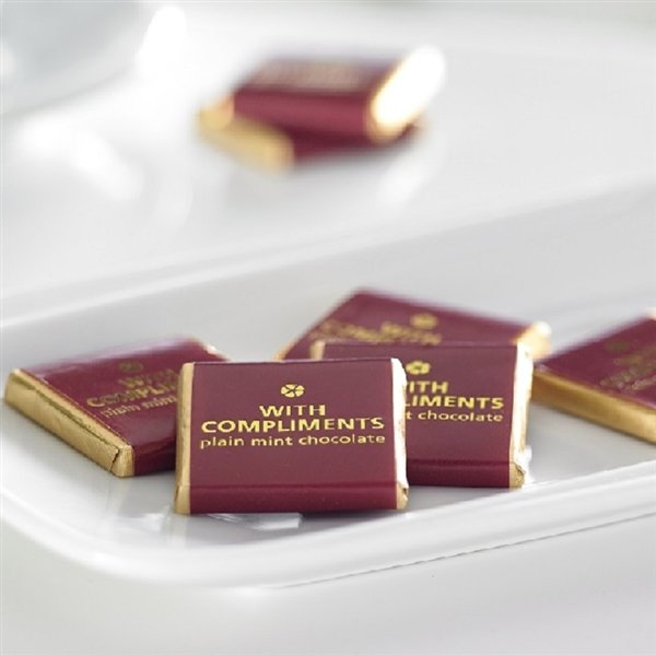 Complimentary Mint Chocolates