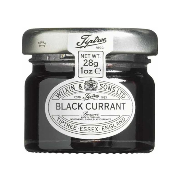 Tiptree Black Currant Preserve Portions