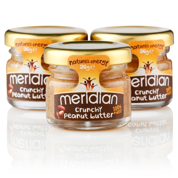 Meridian Peanut Butter 26g Mini Jar Portions