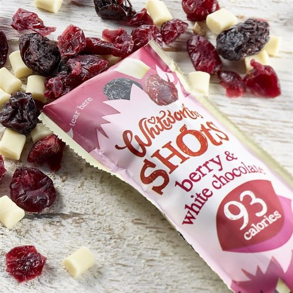 Whitworth 25g Shots Fruit & Nut Snack Packs