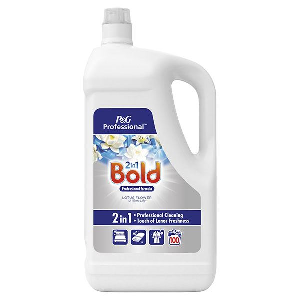 Bold 2 in 1 Laundry Liquid Lotus Flower & Water Lily 5L