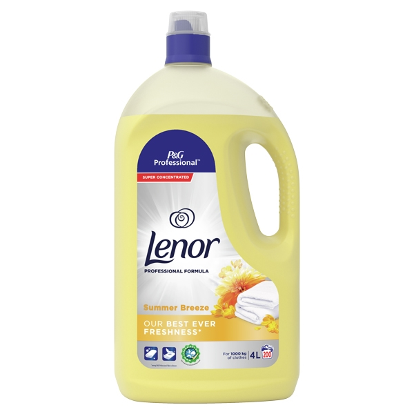 Lenor Concentrate Fabric Conditioner Summer Breeze 4L