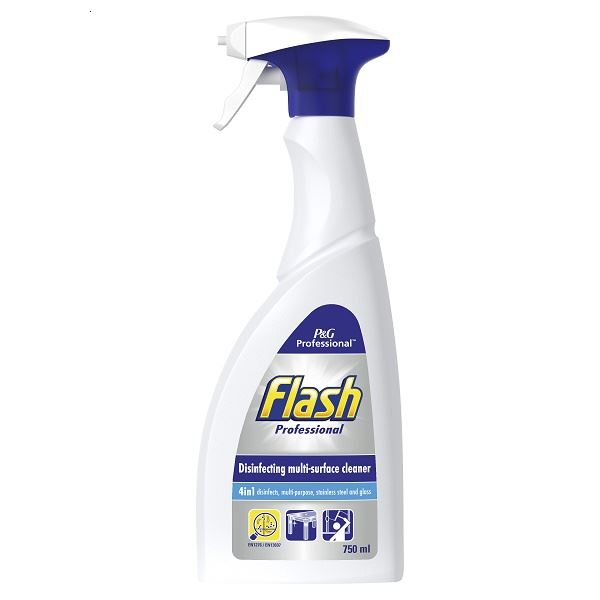 Flash Antibacterial Multi Surface Cleaner 750ml Spray